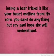 Losing A Best Friend Quotes Cool Handsome Quotes About Lose A Friend 48 Quotes Plus Your My Best