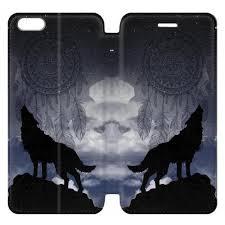 Dream Catcher Case Iphone 7 Plus Dream Catcher Wolf Howling iPhone 100 Flip Case Buy Now IP100S100 51