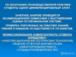Презентация на тему ГБОУСПОРО РБМК Отделение Лечебное дело  23 НА ЗАЩИТУ ПРАКТИКИ СТУДЕНТЫ ПРЕДОСТАВЛЯЮТ ДНЕВНИК ПРОИЗВОДСТВЕННОЙ