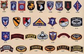 army recon scout page 1 patches