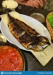 Godeungeo Gui - Grilled Korean Mackerel ...