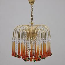 chandelier vintage vintage teardrop and fruit murano glass chandelier 1 ideas