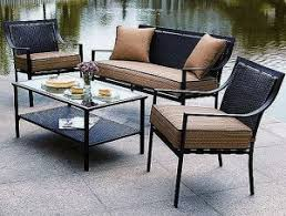 home trends outdoor furniture. Delighful Trends Hometrends Braddock Heights 4Piece Patio Conversation Set Replacement  Cushions And Home Trends Outdoor Furniture M