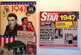 Amazon Com 1947 Birthday Gifts Pack 1947 Dvd Film 1947