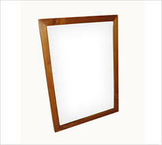simple wood picture frames. Rectangular Mirror Simple Wood Picture Frames