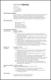create resume customize resume laboratory technician resume sample