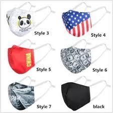 Fashionable Washable Dustproof Cartoon Printed Masks ... - Vova