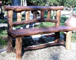 Small Picture Best 25 Rustic outdoor benches ideas on Pinterest Log chairs