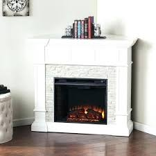 stone electric fireplace stone electric fireplaces blvd white faux stone corner convertible electric fireplace stone electric