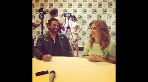 Madchen Amick & Skeet Ulrich - Riverdale Interview at Comic-Con - YouTube