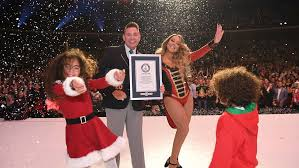 Chart Records Mariah Careys All I Want For Christmas Is You Breaks Chart