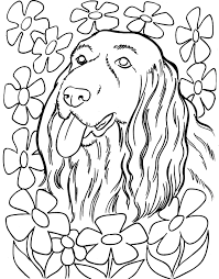 Schattige Honden Kleurplaten Archidev Honden Kleurplaten Printen