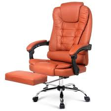 <b>Executive Office Chair</b> for Games Racing Computer PU <b>Leather</b> ...