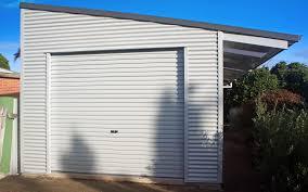 Design Garages West Gosford Shed Boss Custom Skillion Shed 9 999lx4wx2 7h In 2019