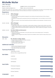 Office Manager Resume 11354 Milesofmulesorg