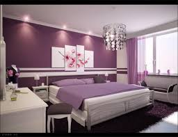 pleasing design of paint colors for bedrooms for teenagers present purple paint wall with purple pillows