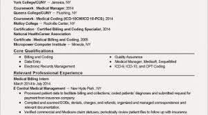 Medical Coder Resume No Experience Best Interesting Cover Letter