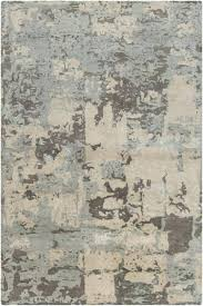 grey and cream rug collection wool viscose area in design by rugs gray trellis