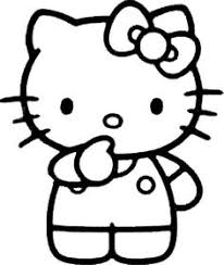 Small Picture hello kitty coloring pages cheerleader coloring kids Pinterest
