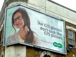 how not to design a glasses advertisement funny how not to design a glasses advertisement