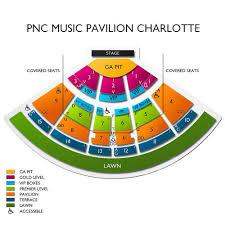 Pnc Music Pavilion 2019 Seating Chart