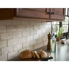 tumbled stone kitchen backsplash. Remarkable Design Natural Stone Backsplash Tile Breathtaking Shop Anatolia 8 Pack Chiaro Tumbled Marble Wall Kitchen E