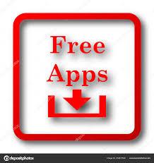 Apps Symbol Kostenlose Apps Symbol Internet Button Auf Weißem Hintergrund