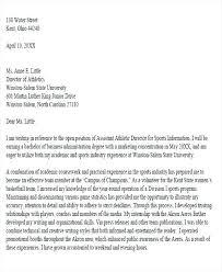 Academic Advisor Cover Letter No Experience Newskey Info