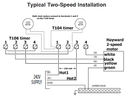 how to wire hayward 2 speed pump in pool pump timer wiring diagram water pump connection diagram at Pump Motor Wiring Diagram