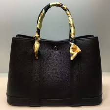 garden party hermes. Hermès Garden Party Bag 30cm Togo Leather In Black Hermes