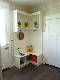 shoe storage furniture for entryway. Corner Shoe Rack Storage Furniture Small White Wood Mudroom Entryway Design With Indoor Plants And Vase Designs For N