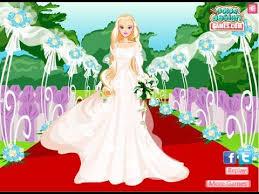 barbie wedding day game barbie dress up game