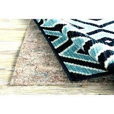 pad under area rug best