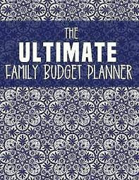online family budget ultimate family budget planner 2018 2019 budget journal tool by sdg for sale online ebay