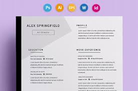 Cute Resume Templates Interesting Cute Resume Templates 28 CV Springfield Com Resume Examples Ideas
