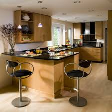 maple kitchen cabinets contemporary. San Francisco Maple Kitchen Cabinets Contemporary With Flat Panel Modern Recessed Light Trims Bar Stools