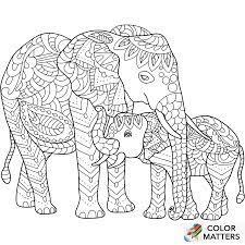 Die muster sind immer auf einen mittelpunkt ausgerichtet und meist rund oder quadratisch. Pin Von Ann Pa Auf Coloring Elephant Malvorlagen Tiere Mandala Ausmalen Ausmalbilder
