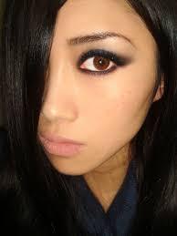 smoky eye makeup with nars arabian nights trio eyeshadow