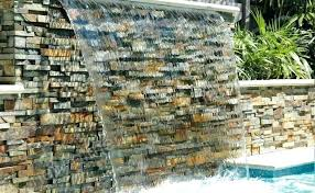 how to build a wall waterfall how to build a wall waterfall natural stone waterfall wall