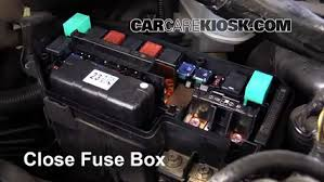 replace a fuse 2009 2014 acura tsx 2010 acura tsx 2 4l 4 cyl 6 replace cover secure the cover and test component