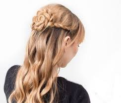 braided rose 10 diy hairstyles for long hair