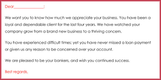 Business Letter For Thank You To The Client Vancitysounds Com