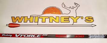 Victory Archery V Force 350 Sport Arrows For Hunting Target Bow 6 Pack