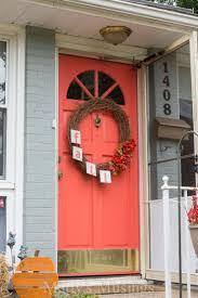 Coral Front Door Favorite 22 Pictures Behr Door Paint Colors Door Decorate