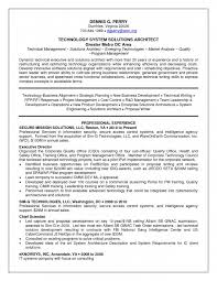 Long Resume Solutions Adorable Solution Architect Resume Swarnimabharathorg
