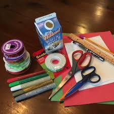 diy holiday card supplies