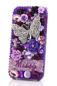 Design Your Own Samsung Galaxy S3 Cases Purple Butterfly Personalized Name Initials Design Style