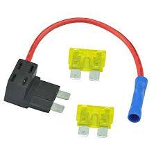 amazon com autoec ato atc 21amp add a circuit fuse holder fuse box  at How To Hardwire A Cb Radio To Fuse Box