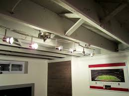 unfinished basement ideas. Unfinished Basement Lighting Track Ideas O