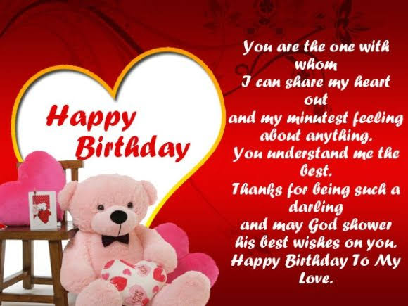happy birthday shayari for girlfriend